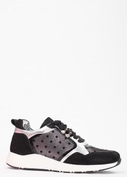 Утепленные кроссовки Tommaso Marino со вставками из пайеток, фото