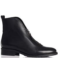 Черные ботинки Genuin Vivier на молнии, фото