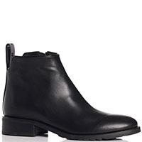 Черные ботинки Genuin Vivier на низком каблуке, фото