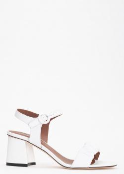 Белые босоножки Evaluna на толстом каблуке, фото