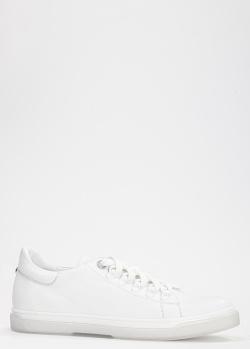 Кеды из гладкой кожи Tommaso Marino белого цвета, фото