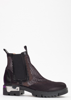 Ботинки-челси Tommaso Marino с перфорацией, фото