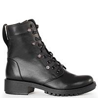 Черные ботинки Tommaso Marino с декором-камнями, фото