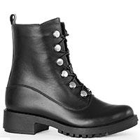 Черные ботинки Tommaso Marino на шнуровке, фото