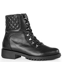 Черные ботинки Tommaso Marino со стегаными вставками, фото