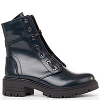 Женские ботинки Tommaso Marino из синей кожи, фото