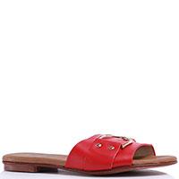 Женские шлепанцы Repo красного цвета, фото
