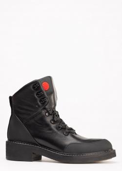 Ботинки Genuin Vivier из кожи черного цвета, фото