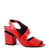Красные босоножки Vic Matie с квадратными носками, фото