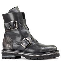 Черные ботинки Laura Bellariva с пряжками, фото