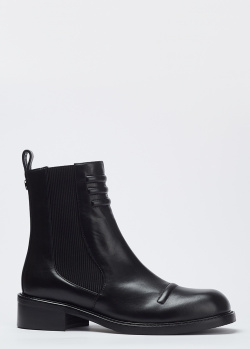 Черные ботинки Hestia Venezia из натуральной кожи, фото