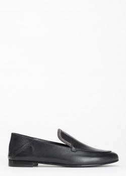 Черные лоферы Fabiana Filippi Ilaria со стразами, фото