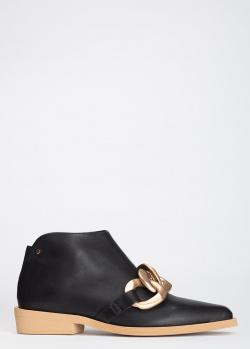Ботинки Angelo Bervicato с крупным декором, фото