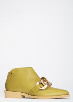 Низкие ботинки Angelo Bervicato с вытянутым носком, фото