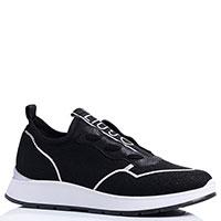 Черные кроссовки Liu Jo с логотипом, фото