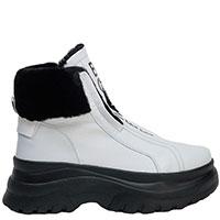 Белые ботинки Bogner с утеплителем, фото