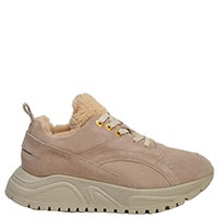 Пудровые кроссовки Bogner на толстой подошве, фото