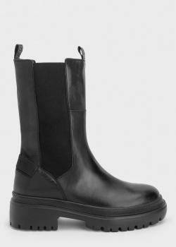 Ботинки из кожи Bogner с эластичными вставками, фото