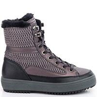 Стеганые зимние ботинки Bogner на шнуровке, фото