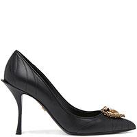 Женские туфли Dolce&Gabbana с декором в черном цвете, фото
