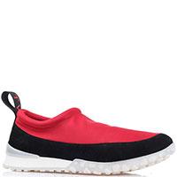 Кроссовки без шнуровки Twin-Set красные с черным, фото