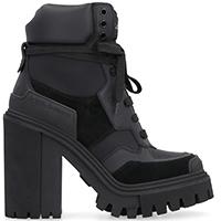 Замшевые ботинки Dolce&Gabbana на шнуровке, фото