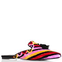 Разноцветные слиперы Ermanno Scervino с кисточками, фото