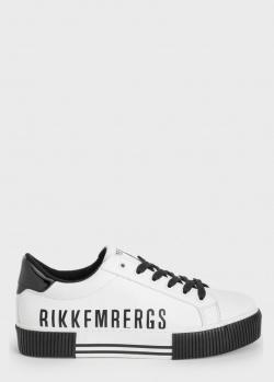 Кеды Bikkembergs с контрастными вставками, фото