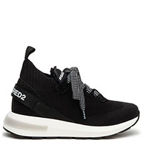 Кроссовки Dsquared2 черного цвета, фото