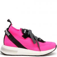 Высокие кроссовки Dsquared2 розового цвета, фото
