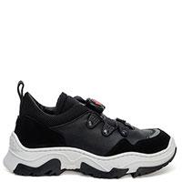 Черные кроссовки Dsquared2 с затяжкой, фото