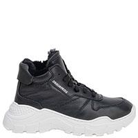 Черные ботинки Dsquared2 на меху, фото
