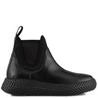 Ботинки-челси Emporio Armani черного цвета, фото