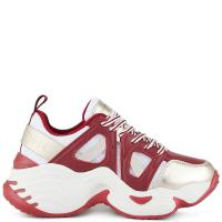 Сникерсы Emporio Armani красного цвета, фото