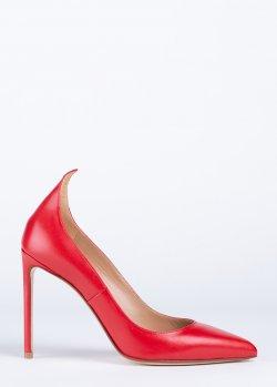 Туфли Francesco Russo в красном цвете, фото