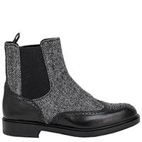 Ботинки-челси Fratelli Rossetti серого цвета, фото