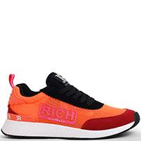 Кроссовки John Richmond оранжевого цвета, фото