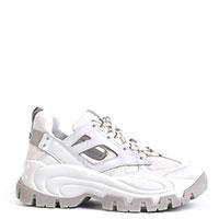 Белые кроссовки Liu Jo на массивной подошве, фото