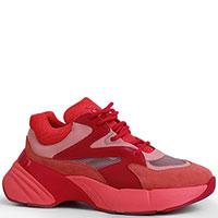 Кроссовки Pinko красного цвета, фото