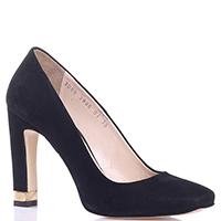Замшевые туфли Sofia Baldi на высоком каблуке, фото