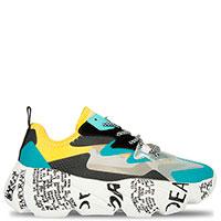 Разноцветные кроссовки Doria Maria с принтом на подошве, фото