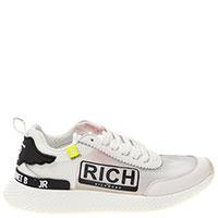 Белые кроссовки John Richmond с логотипом, фото