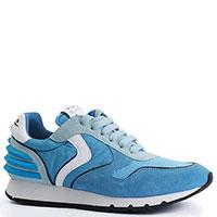 Женские кроссовки Voile Blanche голубого цвета, фото