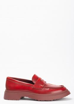 Женские лоферы Camper Walden красного цвета, фото