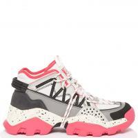 Розовые кроссовки Kenzo на толстой подошве, фото