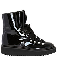 Лаковые ботинки Kenzo на меху, фото