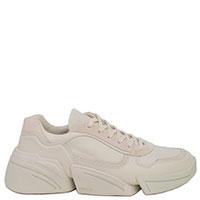 Кроссовки из кожи Kenzo на толстой подошве, фото