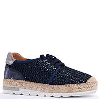 Туфли Kanna синего цвета с глиттером, фото