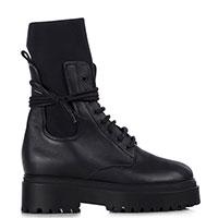 Черные ботинки Le Silla Ranger из гладкой кожи, фото