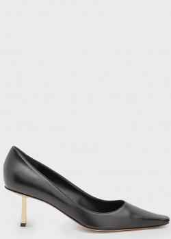 Черные туфли Le Silla с квадратным носком, фото